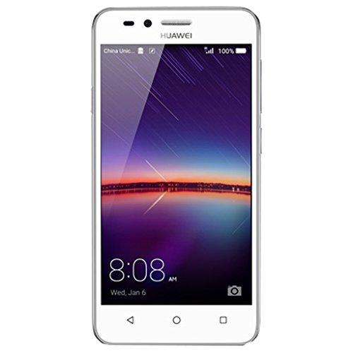 Huawei LUA-L21 Y3 II LTE Dual SIM Smartphone (11,4 cm (4,5 Zoll), 8GB, 1 GB RAM Speicher, 854 x 480 Pixel, Android 5.1 Lollipop) Artic-weiß