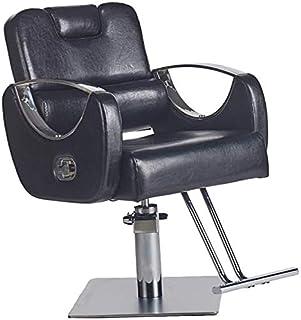 Shengluu Sillas De Escritorio Sillas reclinables de belleza Peluquería Profesional giratoria de oficina de cuero silla de la computadora silla del salón del peluquero Silla moderna Silla giratoria Sil