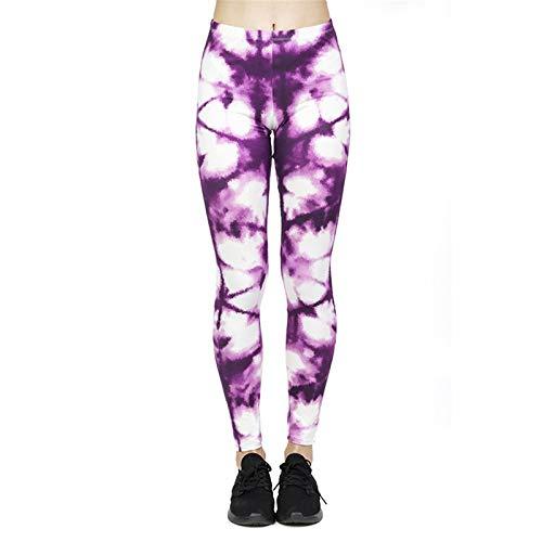 Mujer Pantalones Largos Deportivos Patrón de árbol Leggings para Running, Yoga y Ejercicio