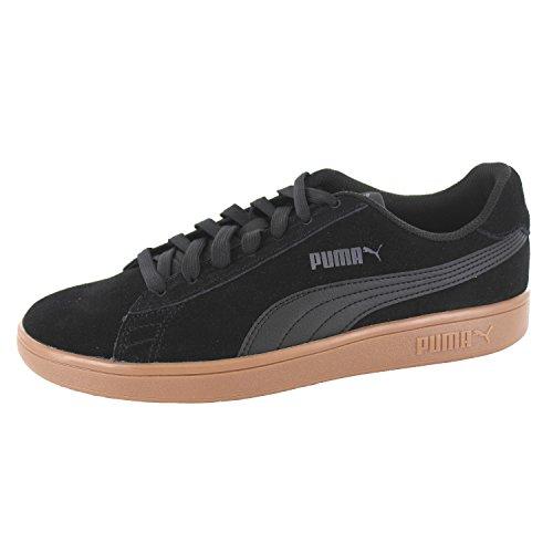 PUMA Smash V2, Zapatillas Unisex-Adulto, Negro Black Black,