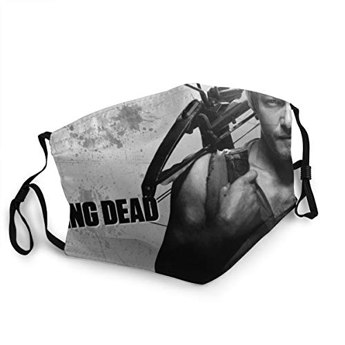 Daryl Dixon The Walking Dead Unisex Fashion Face Bandane Head Band Indossa Sciarpa Face Tube Neck Scarf