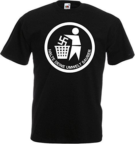 Halte Deine Umwelt SAUBER T-Shirt