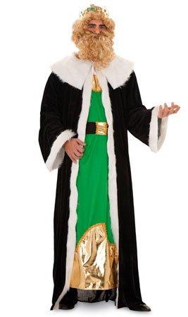 CRAZY THE PARTY Disfraz de Rey Gaspar Pelo Adulto M/L: Amazon.es ...