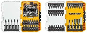 82-Piece DeWalt Tough Grip Shank Screwdriver Bit Set