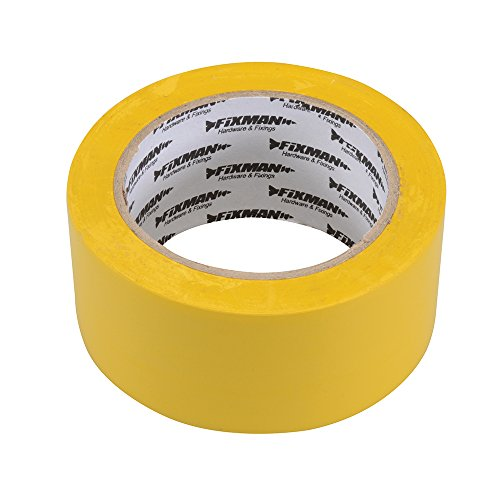 Fixman 192031 Isolierband 50mm x 33m, gelb