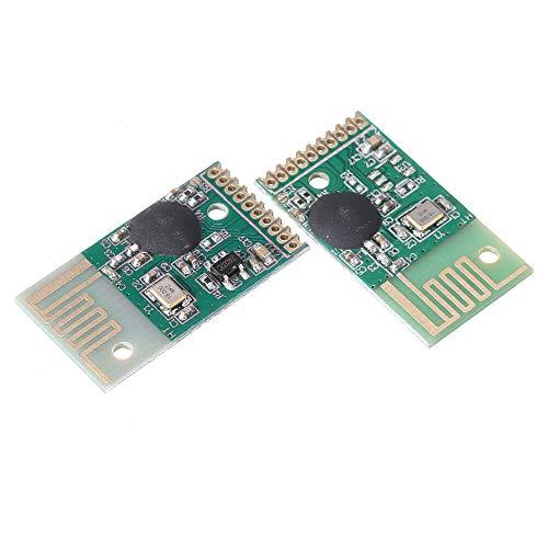 Componentes de la computadora Accesorios eléctrico 10pcs 2.4g Módulo de control remoto inalámbrico Transmisor y receptor Módulo Kit de transmisión Recepción de transmisión Comunicación 6 Chann