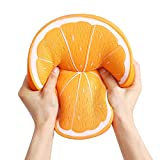 Anboor 10 Inches Squishies Orange Jumbo Kawaii Soft Slow Rising Scented Big Fruit Squishies Stress Relief Kid Toys Gift Decoration Props