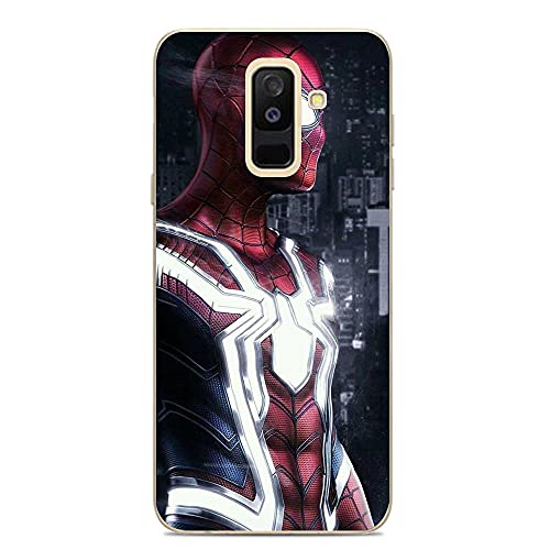 Ddftet Protect Clear Coque Soft TPU Wireless Charging Liquid Silicone Cover Case For Samsung Galaxy A6 Plus/J8 2018/A9 Star Lite-Superhero-Mv 8