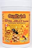 QUALITYLAB Royal Jelly Powder 150 g (3X Concentrated, Freeze-Dried from Liquid); Made in Canada