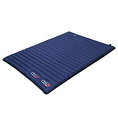 JODELA Camping Sleeping Pads 2 Person,The New Thickened (4.0-inch) Camping Mattress 2 Person for Camping, Hiking, Backpacking