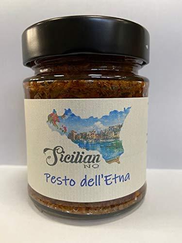 Spicy Pesto Etna-280gr-Vegan- Artisan -100% Gemaakt in Sicilië.-100% Luxe Zelfgemaakt voedsel.Italiaanse pesto voor…