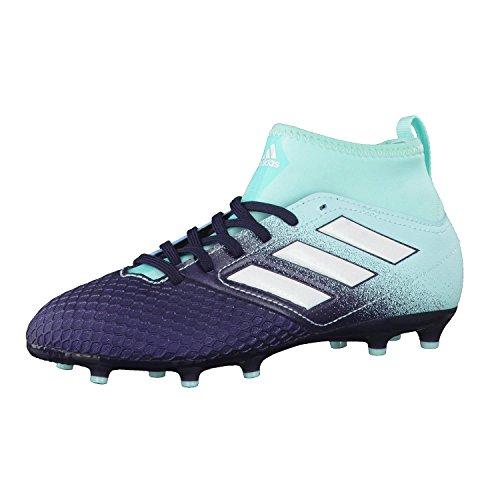 adidas Ace 73 Fg J, Scarpe per Calcio Bambino, Multicolore (Energy Aqua /Ftwr White/Legend Ink), 35.5 EU