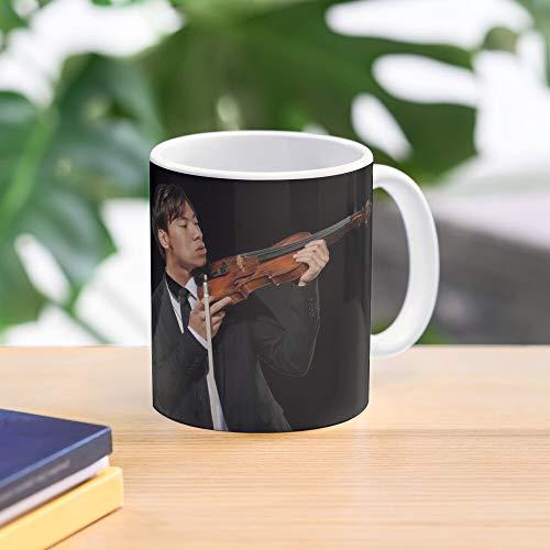 Eddy Twosetviolin Violin Brett Chen Ling Twoset Yang Two Set Best 11 Ounce Ceramic Coffee Mug Gift