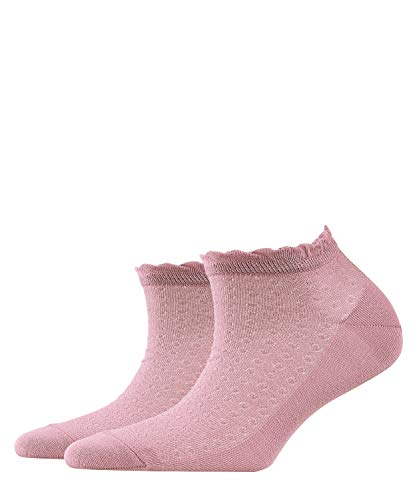 Burlington Damen Montrose W SN Sneakersocken, Rosa (Bubblegum Pink 8451), 36-41 (UK 3.5-7 Ι US 6-9.5)