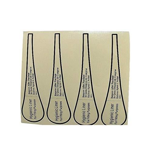 aifengxiandonglingbaihuo 50Pcs Hygiene Label Badebekleidung Dessous Unterwäsche Kurzer Bikini Anprobieren Sticker Strip Labels Adhesive Fitting Protective Liner, als Fotos
