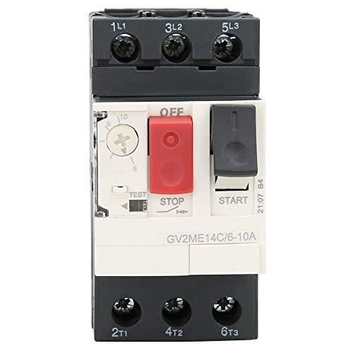 Disyuntor del motor, GV2 Disyuntor de protección del motor Interruptor de protección del motor(GV2-ME14C 6~10A)