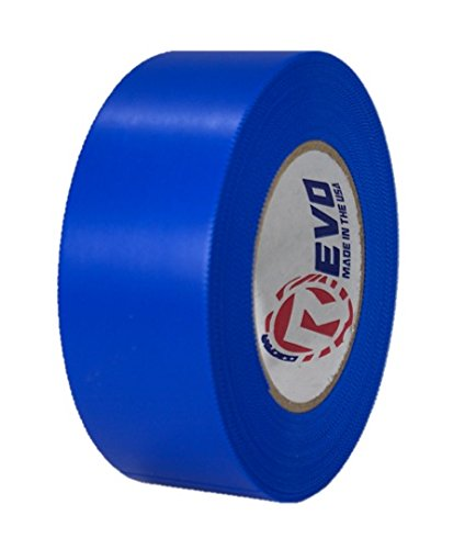 """REVO Preservation Tape / Heat Shrink Wrap Tape (2"""" x 60 yards) MADE IN USA (BLUE) Poly Tape - Electrical Tape - Scaffold Wrap Tape (PINKED EDGE) SINGLE ROLL (HEAVY DUTY: 9 MIL THICKNESS)"""