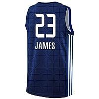レイカーズ23#lebronジェームズジャージー、ブラックマンバレトロ記念版バスケットボールジャージ、ユニセックスノースリーブ通気性スイングマンジャージーTシャツ(XS-2XL) James4-XL