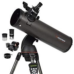 commercial Celestron – NexStar 130SLT Computer Controlled Telescope – Compact and Portable – Newton Reflector… telescopes for astrophotography
