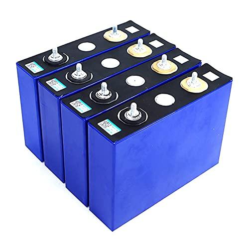 LeiQuanQuan 3.2V 100Ah Batería LiFePO4 Grado A,Ciclo Profundo 3000 Paquete De Batería De Litio, para 12V 24V 48V 100Ah 200Ah Sola, RV, Barco (Color : 8PSC)