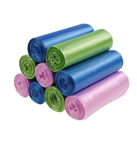 Cand 1.6 Gallon Garbage Bags, 9 Rolls/180 Counts