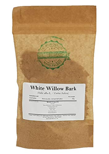 Weiden Rinde / Salix Alba L / White Willow Bark # Herba Organica # Silber-Weide Rinde (50g)