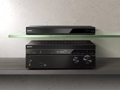 Sony UBP-X800 4K Ultra HD Blu-Ray Disc Player with High-Resolution Audio and Hi-Fi Quality Build (Renewed)