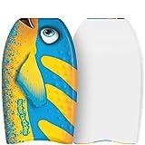 Water Buddies 22in Mini Bodyboard 2-Pack // Foam Wax Free Soft Kickboard Bodyboard for Adults and Kids of All Levels