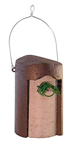 Nistkasten, Nisthilfe Nisthöhle 1B Klassisch Braun 32 mm mit MARDERSCHUTZ
