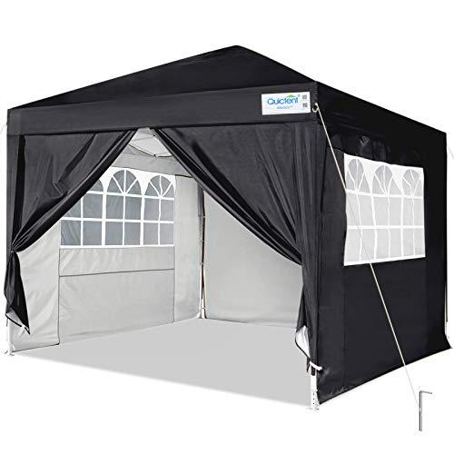 Quictent Silvox 10x10 EZ Pop Up Canopy Party Tent...