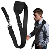 FMK Weed Wacker Strap,Leaf Blower Strap with Shoulder Pad Trimmer Shoulder Strap Universal for Weed Eater Strap,Leaf Blower Strap,Multi Head System,Compatible with EGO String Trimmer and All Types