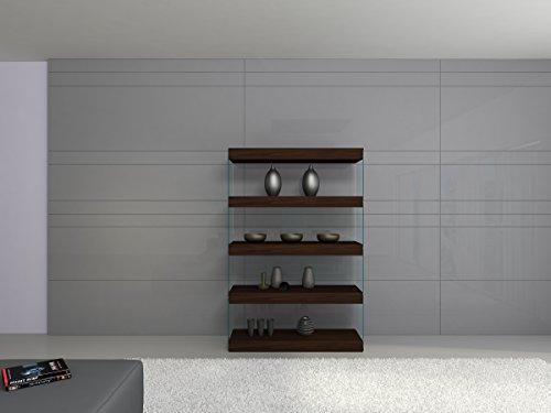 J and M Furniture Float Curio Unit