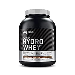 professional Optimal Nutrition Platinum Hydro Whey Protein Powder, 100% Hydrolyzed Whey Protein Isolate Powder, …