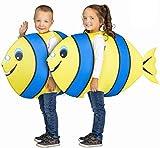 Lola Home My Other Me Disfraz de Pez Amarillo y Azul para niños