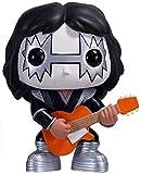 Pop Vinyl Pop Kiss Guitarrist Guitarrist Bass and Drummer The Demon (Gene Simmons) / Niño (Paul Stan...