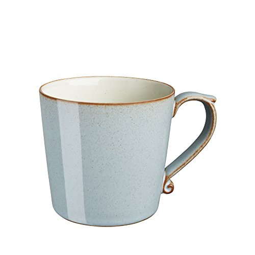 Denby Heritage Mug, Large, Terrace Grey, Set of 4