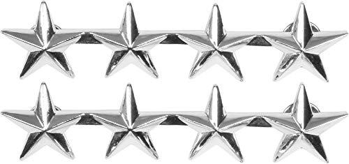 normani US Rangabzeichen aus Metall mit Nadelverschluss in verschiedenen Ausführungen Farbe General