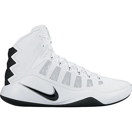 Nike Unisex-Erwachsene WMNS Hyperdunk 2016 tb Basketballschuhe, Weiß (Weiß (White/Black), 44.5 EU