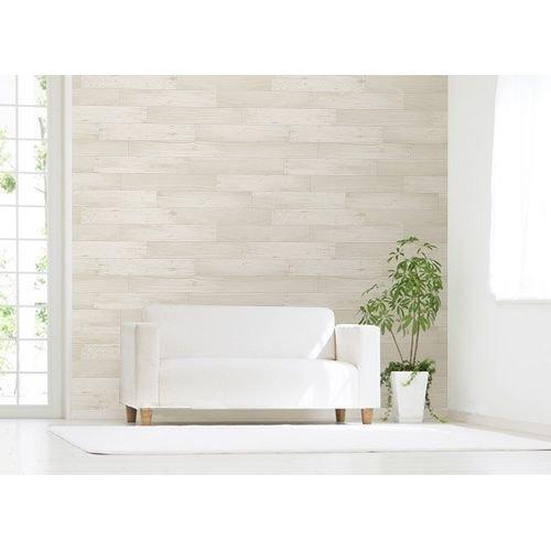 MEIWA アクセント壁紙 木壁調 クリーム 92cm×2.5m
