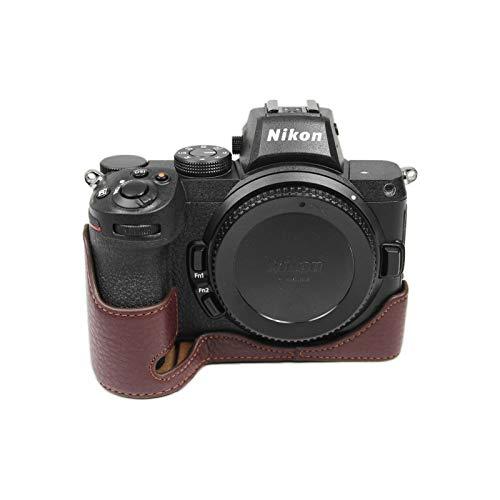 kinokoo ニコン NIKON Z7/Z7II/Z6/Z6II/Z5専用ハーフケース カバー カメラケース レザー 本革(CF)
