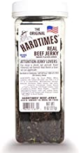 Hard Times 8oz Jar Original Real Beef Jerky Sliced Hand Trimmed Dry Tough Jerky For HardTimes