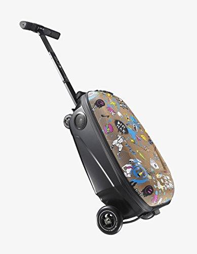 Micro Mobility–maleta Micro Lugagge 2, color Multicolore Steve Aoki, tamaño talla única