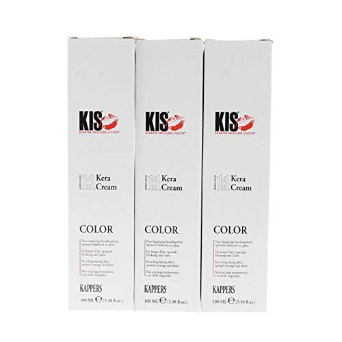 KIS KeraCream Color for beautiful colors and healthy hair - 8KG, 100 ml