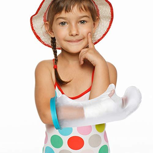 Protector de escayola para niños, impermeable, para envolver las lesiones, heridas, quemar al bañarse con material de PVC duradero