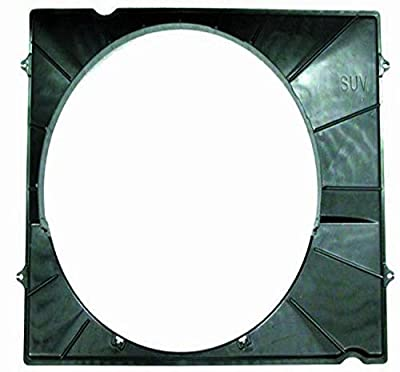 DEPO 312-55022-301 Replacement Engine Cooling Fan Shroud (This product is an aftermarket product. It is not created or sold by the OE car company)
