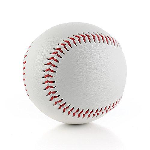 Andoer Bola de treinamento de beisebol 9 PU de alta qualidade Bola de combate de enchimento suave