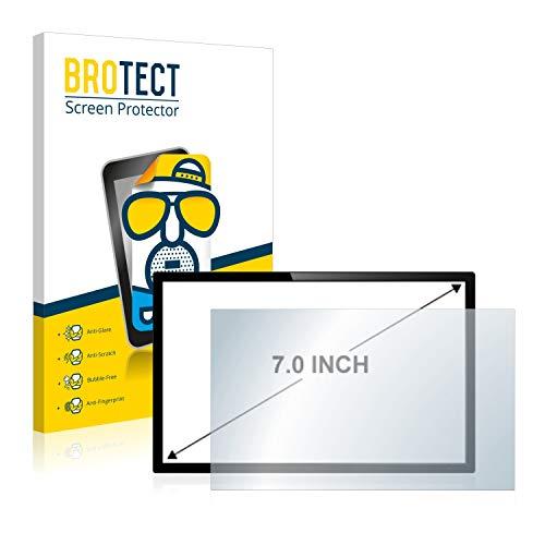 brotect Pellicola Opaca 7' per Sistemadi Navigazione/GPS con 17.8 cm (7,0 Pollici) [154.8 mm x 87 mm, 16:9] (2 Pezzi) Proteggi Schermo