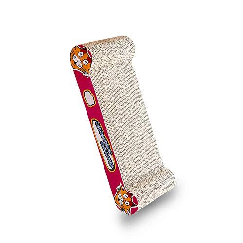 Bontoy - Cartón rascador para sofá (45 x 22 x 7 cm)