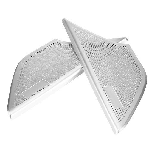KSTE 2pcs aleación de Aluminio de la Puerta Frontal del Altavoz de...