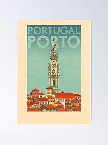 AZSTEEL Póster de viaje - Porto Portugal
